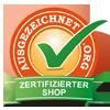 bear-family.de hat die Prüfung der über 100 Qualitätskriterien erfolgreich bestanden und ist mit dem Ausgezeichnet.org Zertifikat für Onlineshops ausgezeichnet.